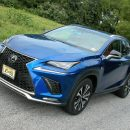 Lexus' NX 300 F Sport crossover/SUV exudes distinctive styling inside and out