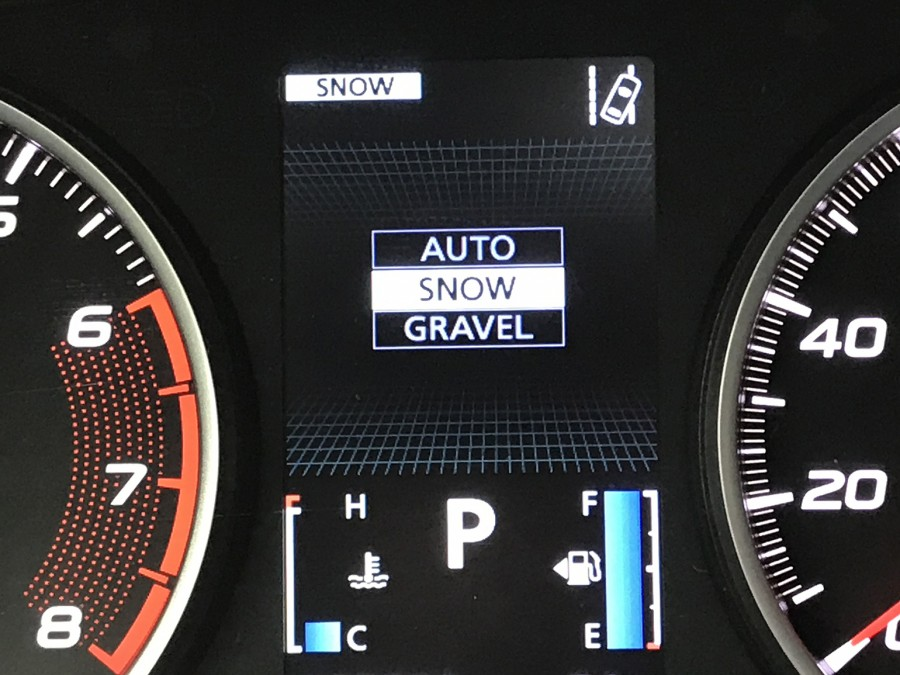 Cross18-AWD modes