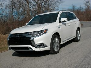 Mitsubishi's Outlander PHEV enters the hybrid SUV market with lots of competition