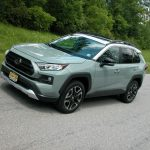 Toyota's 2019 RAV4 SUV received a new engine, tech upgrades and a stylish new look