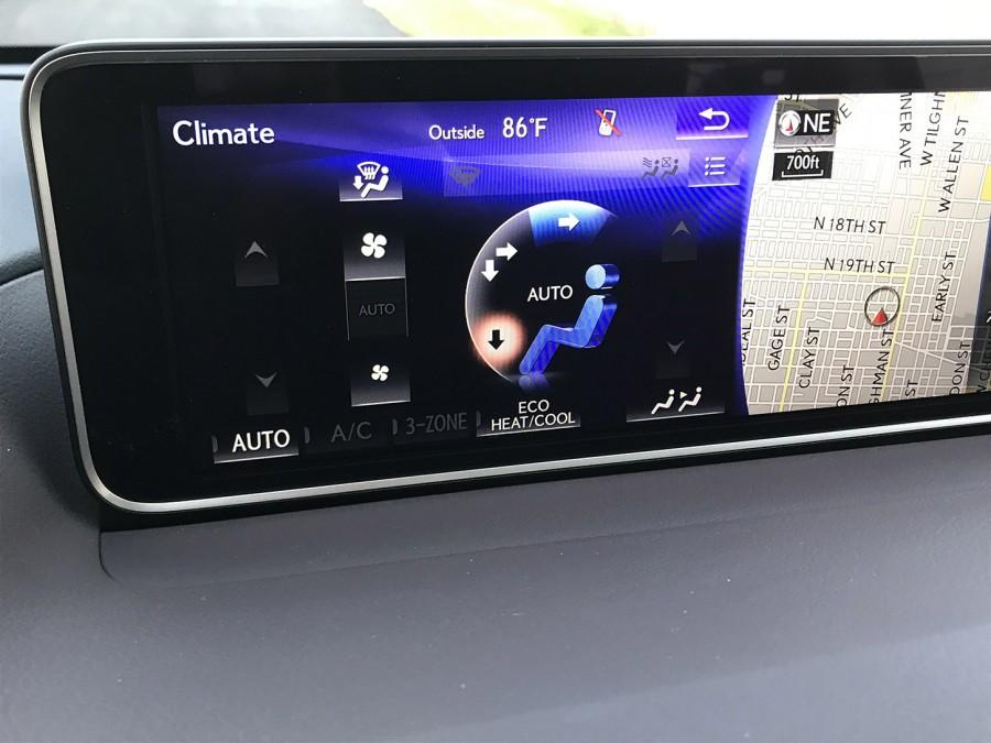 RX350L19-Climate