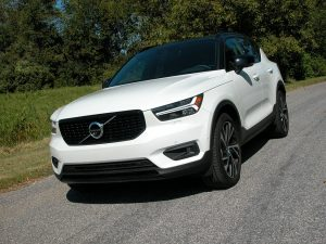 Volvo's XC40 is the Swedish automakers down-sized version of its popular crossover/SUVs
