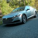 Volkswagen's brand new Arteon AWD sedan acts like a hatchback/crossover