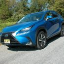 Lexus' NX300 compact AWD SUV has the styling and attributes of the larger and popular RX 350 SUV