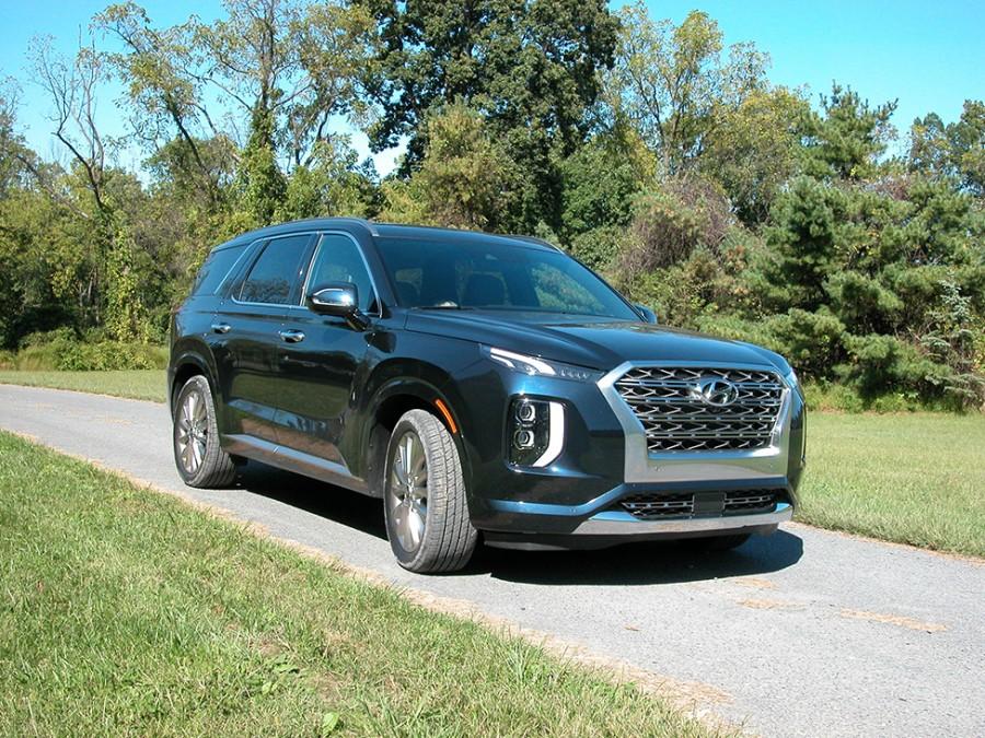 Hyundai's totally new Palisade three-row SUV is already a hit among families