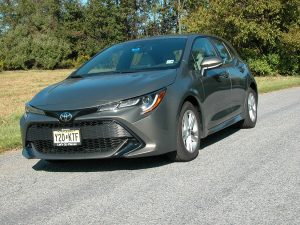 Toyota's compact Corolla Hatchback offers great handling, miserly fuel economy all at an affordable price