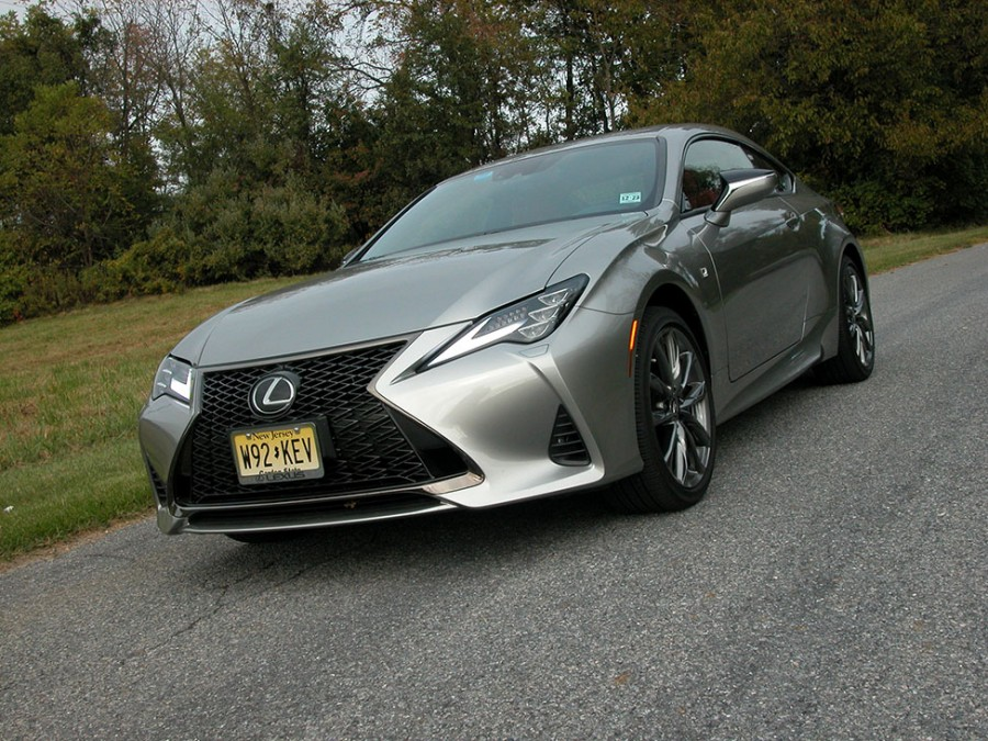 Lexus' RC 350 with AWD becomes a sporty, daily driver