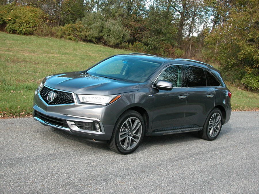 Acura's MDX Sport Hybrid combines economy, luxury and sportiness in an AWD SUV