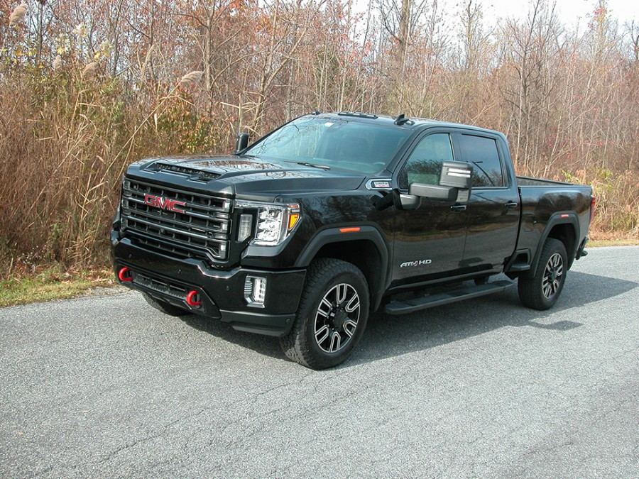 GMC's Sierra AT4 2500 is an exceptional high-tech pickup with HD abilities
