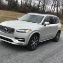 Volvo's XC90 T8 eAWD SUV offers a myriad of technological advancements and posh luxury.