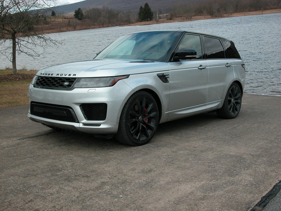 Range Rover Sport has superior off-road capabilities and luxury fit for a queen