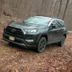 Toyota's new RAV4 TRD Off-Road SUV caters to outdoors oriented enthusiasts