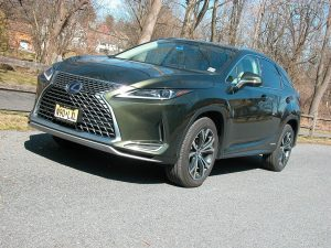Lexus' RX450h transforms the carmakers top seller into a thrifty, hybrid AWD luxury SUV