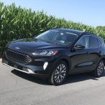 Ford's 2020 Escape Hybrid crossover has been redesigned with Euro styling and advanced technology