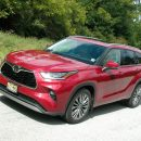 Toyota's midsize Highlander SUV is all new with numerous upgrades and seating for 8
