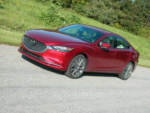 Mazda6 caters to those looking for a stylish midsize sedan with an upscale interior, impressive ride/handling and miserly fuel economy