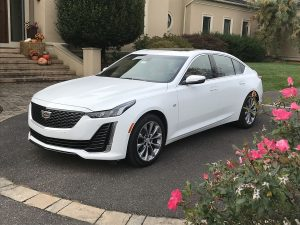 Cadillac's all new CT5 midsize sedan has compelling traits plus optional AWD