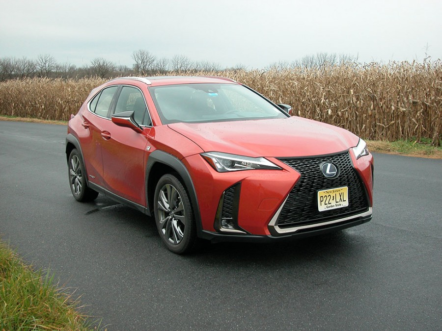 Lexus' UX 250h F Sport crossover offers impressive fuel economy and top safety scores