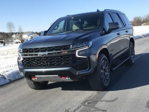 In this 5th generation, Chevrolet's 2021 Tahoe has a new look, increased interior space and greater towing capacity