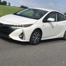Toyota's Prius Prime plug-in sedan offers the best of both gasoline/electric hybrid propulsion and economy